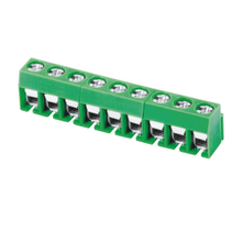 Euro terminal blocks Spring type 2.5mm² Pin spacing 5.00 mm 9-pole PCB connector