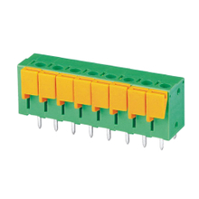 Screwless terminal blocks Push-button 1.5 mm² Pin spacing 5.08 mm 8-pole PCB Connector