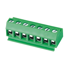 Euro terminal blocks Spring type 2.5mm² Pin spacing 5.00 mm 7-pole PCB connector