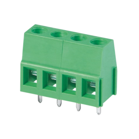 Euro terminal blocks Rising/Lift type 2.5mm² Pin spacing 5.00/5.08 mm 4-pole PCB connector