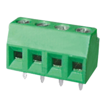 Euro terminal blocks Rising/Lift type 1.5mm² Pin spacing 3.50/3.81 mm 4-pole PCB connector