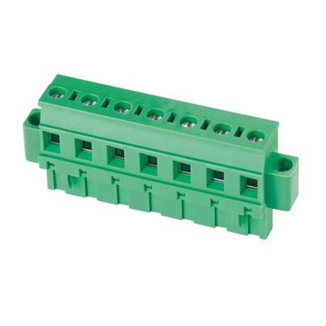 Pluggable terminal block Plug in 2.5mm² Pin spacing 7.5/7.62 mm 7-pole Female connector