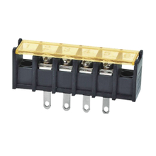 Barrier terminal blocks Screw type 2.5mm² Pin spacing 7.62 mm 4-pole PCB connector