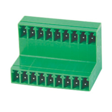 Pluggable terminal block R/A Header Pin spacing 3.50/3.81 mm 9-pole Male connector